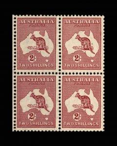 VINTAGE: AUSTRALIA 1935 OG NH PO SCOTT #125 $ 50 LOT #VSWAUS1935-T5