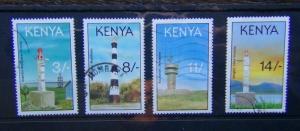 Kenya 1993 Lighthouses set Used