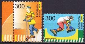 Belarus. 2003. 486-87. Sport. MNH.