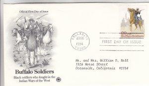 1994, Buffalo Soldiers, PCS, FDC (E9215)