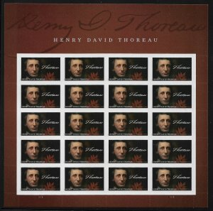 MALACK 5202 Forever Henry David Thoreau, VF mint nev..MORE.. stock5202