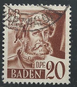 Germany #5N21 20dpf Hans Baldung Grien