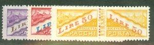 BD: San Marino Q16-32 mint CV $79.50; scan shows only a few