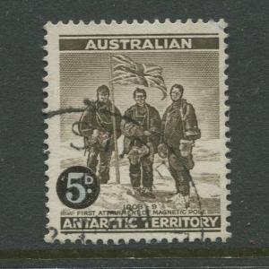 Antarctic Terr. #L1  Used  1957  Single 5d Stamp