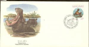 Malawi FDC SC# 503 Hippopotamus L60