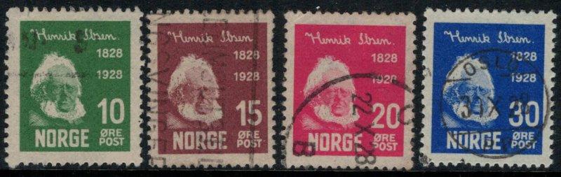 Norway #132-5  CV $15.40