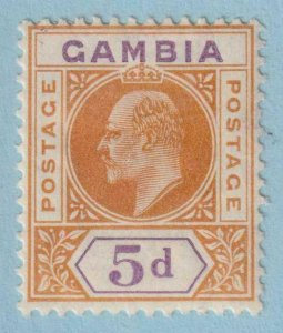 GAMBIA 51  MINT HINGED OG * NO FAULTS EXTRA FINE !