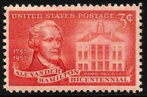 United States 1957 Scott# 1086 MNH