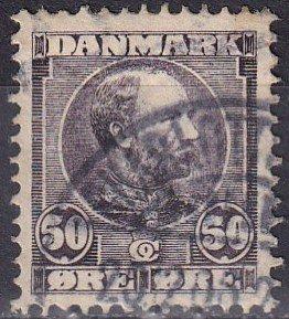 Denmark #68   F-VF Used  CV $120.00  Z982