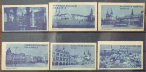 Match Box Labels czechoslovakia czech slovakia jihlava mikulov tourism XJ177