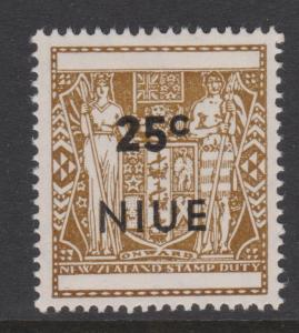 Niue 1967 Sc#116 Mint VLH