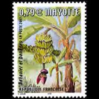 MAYOTTE 2003 - Scott# 185 Banana Tree Set of 1 NH