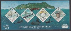 Pitcairn Islands 500 Souvenir Sheet MNH VF