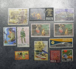 MALTA  Stamps  stock page 6c       ~~L@@K~~
