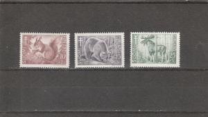 Finland  Scott#  B120-2  MNH  (1953 Animals)