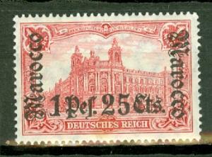 Germany Morocco 42 mint CV $62.50