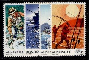 AUSTRALIA QEII SG724-727, 1979 fishing set, NH MINT.