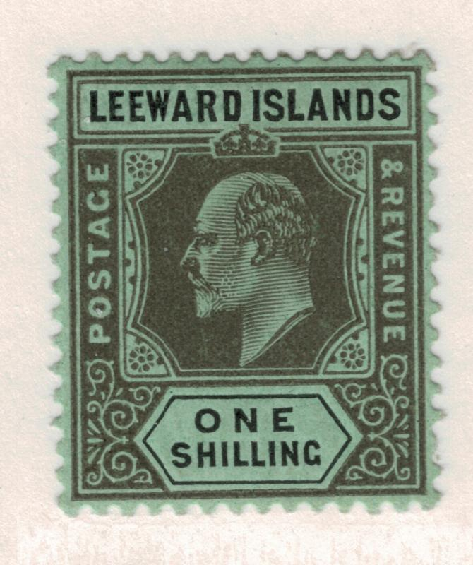 Leeward Islands Stamp Scott #38, Mint Hinged - Free U.S. Shipping, Free World...