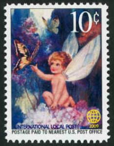 Butterflies & Fairies - Intl. Local Post - MNH - Cinderella