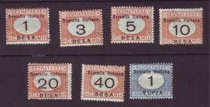 J20031 Jlstamps 1923 somalia mh #j23,j25-30 postage dues ovpt,s