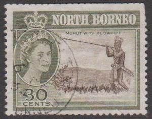 North Borneo Sc#288 Used Faults