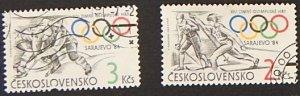 Sport, Olympian Games, 1984, Czechoslovakia, (1123-Т)