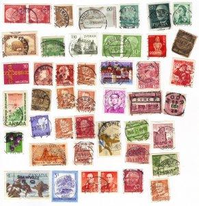 Worldwide postmarks mix #6