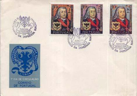 Portugal, First Day Cover