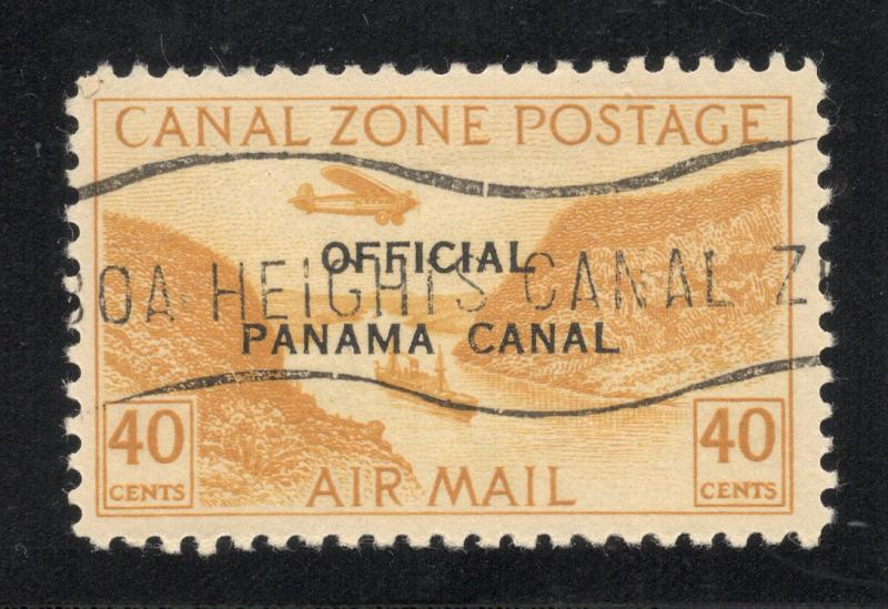 CZ#CO6 Air Post Official - Used - (With Overprint and O.G. as Issued)