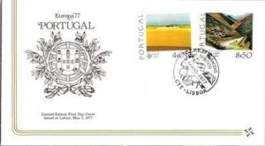 Portugal, Worldwide First Day Cover, Art