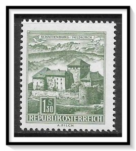 Austria #695 Building Types MNH