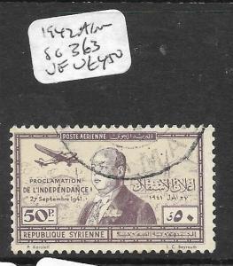 SYRIA (PP0904BB) A/M  50P  SG 363   VFU