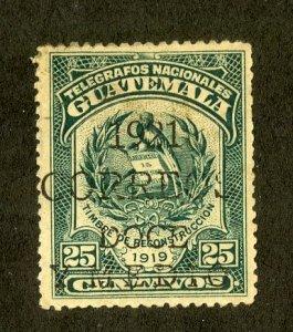 GUATEMALA 177 USED SCV $15.00 BIN $6.00
