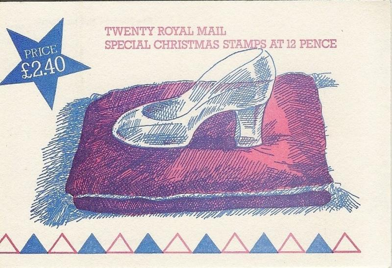 GB 1985 Christmas £2.40 FX8 Folded Booklet c£9