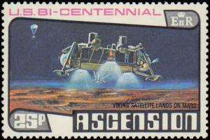 1976 Ascension  #215-217, Complete Set(3), Never Hinged