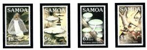 Samoa 645-48 MNH 1985 Fungi