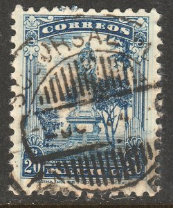 MEXICO 691, 20cents, LA CORREGIDORA MONUMENT. USED. F-VF. (500)