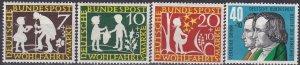 Germany #B368-71 MNH  CV $3.40 (Z4635)