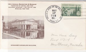 U. S. 1958 N.Y. 12th Ann. Ex. & Banquet Philatelic Society Stamp Cover Ref 37615