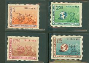 Albania 625-628 Mint VF NH