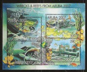 ARUBA  SC #   304  MNH
