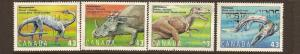 CANADIAN SET ON PREHISTORIC LIFE-3 USED STAMPS  LOT#223