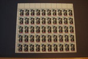 1275, Adlai Stevenson, Mint Sheet, CV $12