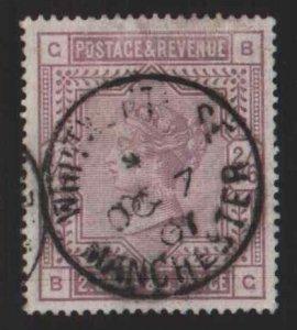 Great Britain Scott 96-SCV $247.50