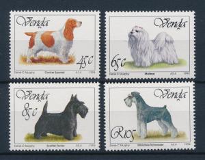 [39708] Venda 1994 Animals Dogs MNH