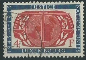 Luxembourg Scott Catalog Numbers 308 and 320 Used