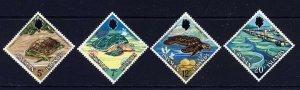 CAYMAN ISLANDS QE II 1971 The Turtles Set SG 294 to SG 297 MINT