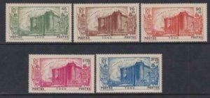 Togo 1939 SC B2-B6 MNH Set