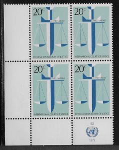 UNITED NATIONS - SC# 315  INSCRIP B/4 LL  FVF/MNH 1979