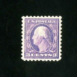 US Stamps # 426 Pink paper variety OG LH